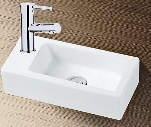 gr nblatt waschbecken h nge waschtisch mit lotus effekt nano beschichtung tirebeg. Black Bedroom Furniture Sets. Home Design Ideas