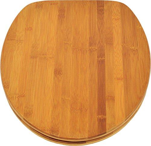 wirquin 20719732 wc deckel casual line bamboo bambus natur tirebeg. Black Bedroom Furniture Sets. Home Design Ideas