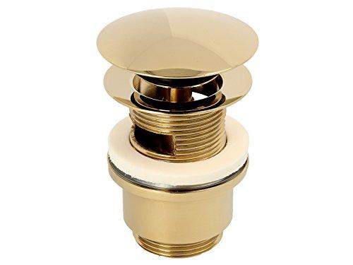 knoppo waschbecken berlauf abdeckung design berlaufblende mirror gold tirebeg. Black Bedroom Furniture Sets. Home Design Ideas